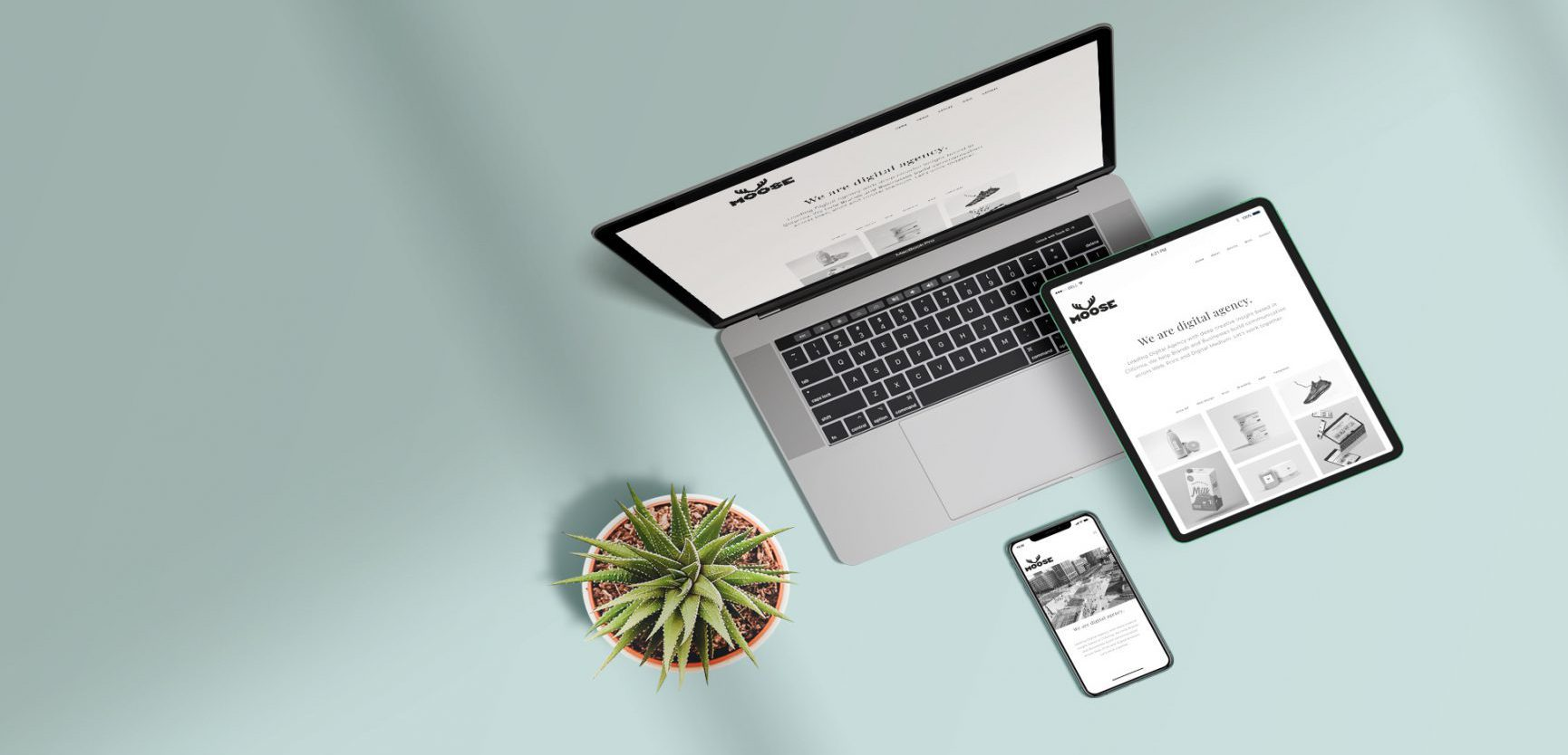 Website package is what can improve these websites, visible on all devices as shown here, laptop, Ipad and Iphone